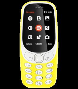 nokia 3310 gul