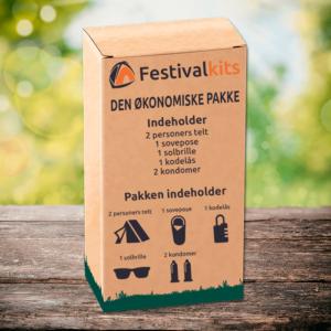 Billig festivalpakke